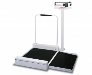 Detecto 495 Wheelchair Scale