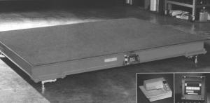 B-Tek Workhorse Floor Scale