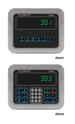 Weigh-Tronix ZM300 Series Weight Indicators