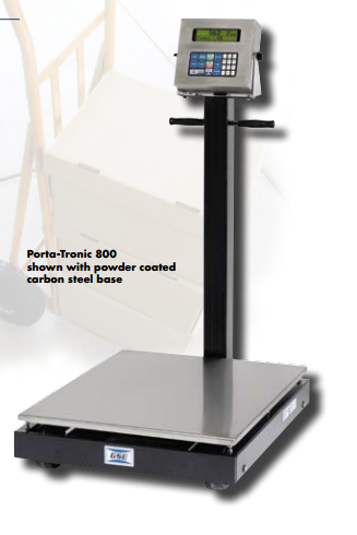 GSE Porta-Tronic 800 Series Portable Scales